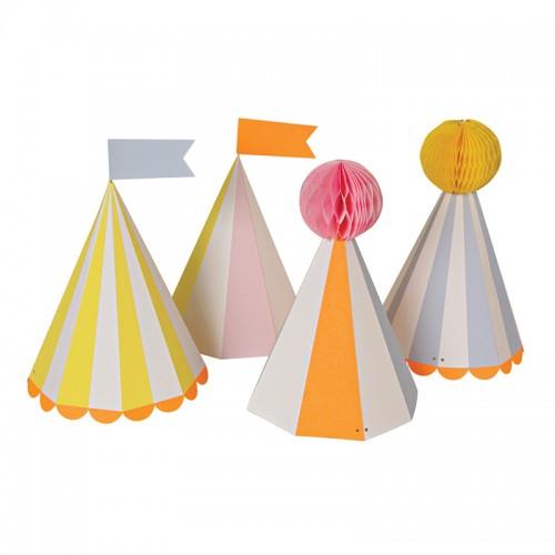 Sombreros Circo (8u.)