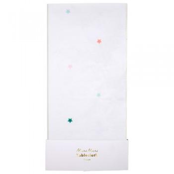 Multicoloured Star Tablecloth