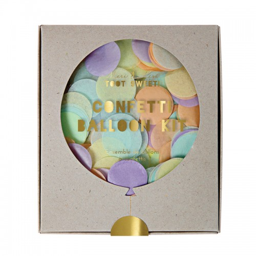 Pastel Confetti Ballon Kit (8u.)