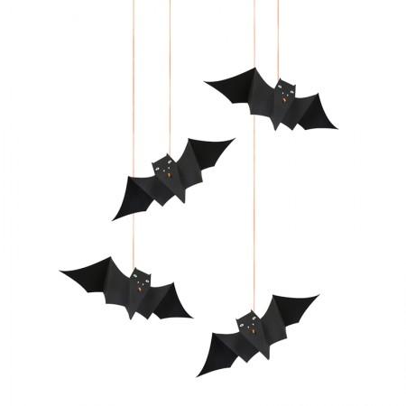 Murciélagos colgantes decorativos (1 m)