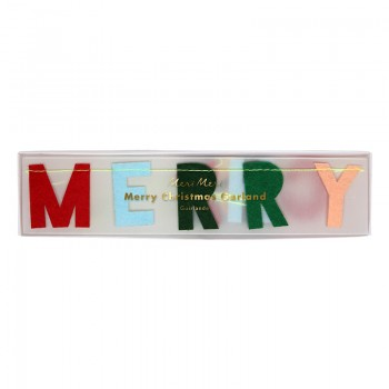 Guirnalda de Fieltro Merry Christmas mini