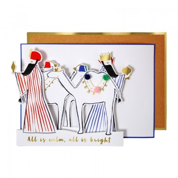 Wise Men Concertina Card