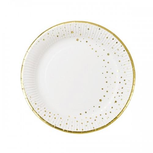 Paper Plate  Gold (12 Un)