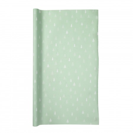 Gift wrapping paper green
