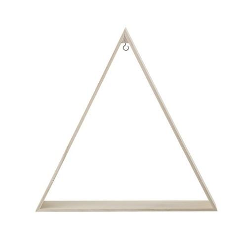 Decoración triángulo, madera