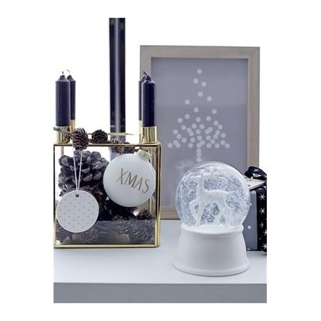 Deco w/Light, White, Porcelain
