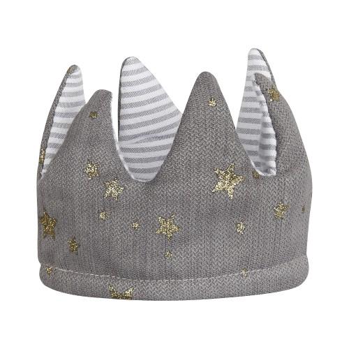 Fabric Reversible Crown Grey