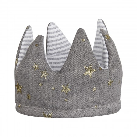 Fabric Reversible Crown Grey