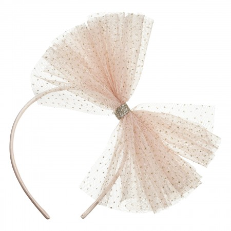 Tutu Bow Alice Grey