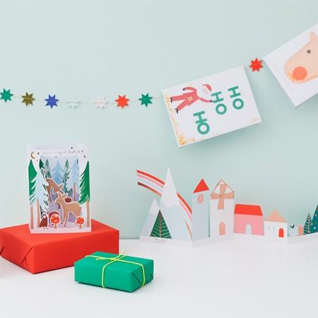 Christmas Acrylic  Cake Toppers (6u.)