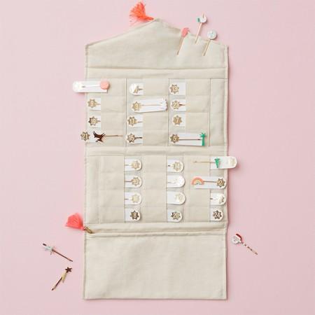 Calendario de Adviento Horquillero de tela