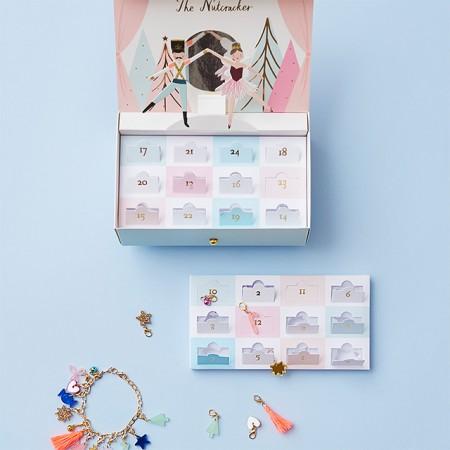Calendario de Adviento Joyero con pulsera talismanes