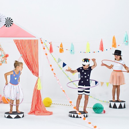 Silly Circus Cake Toppers (4u.)