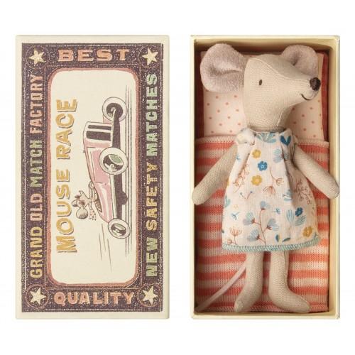 Ratoncita vestido estampado, en caja (Big)