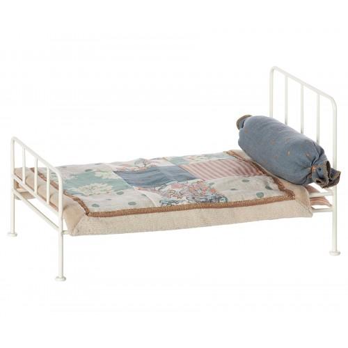 White Metal Bed (Mini)