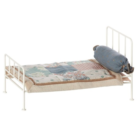 White Metal Bed (Mini)
