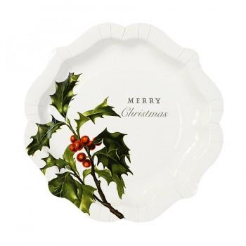 Platos, Navidad Botanica (12u).