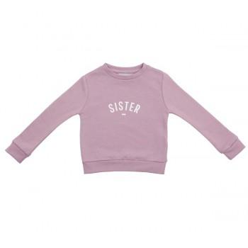 Dusty violet Sister sweatshirt size 2