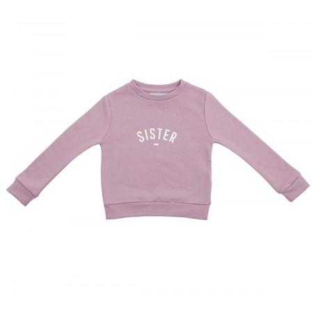 Dusty violet Sister sweatshirt size 4