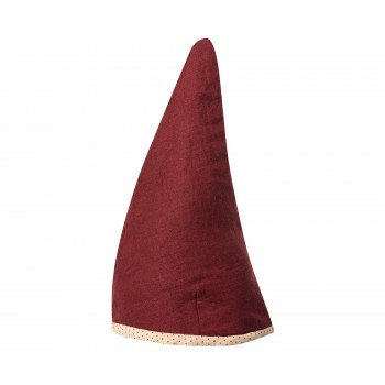 Pixy hat, Red, Medium, 53-55 cm