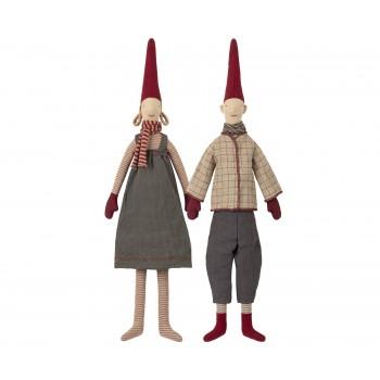 Muñecos duendes, Magda y Morten  (Medium)
