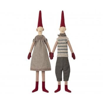 Muñecos duendes, Marie y Magnus  (Medium)
