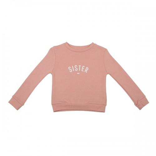 Blush pink Sister sweatshirt size 4