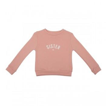 Blush pink Sister sweatshirt size 6