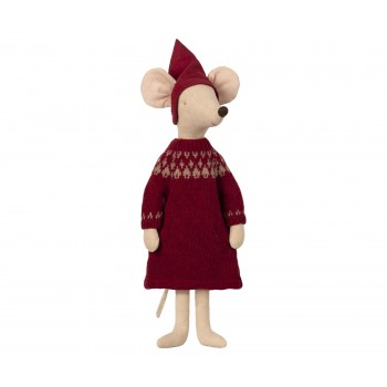 Christmas mouse, maxi - Girl