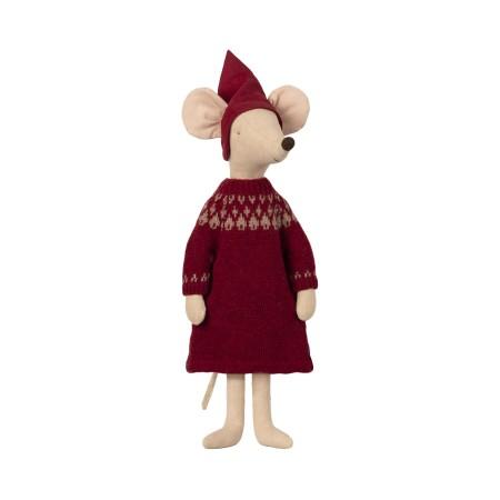 Christmas mouse, maxi - Girl
