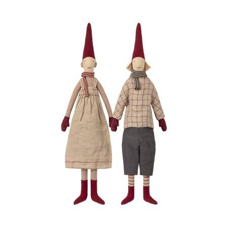 Muñecos duendes, Laura y Lars (Maxi)