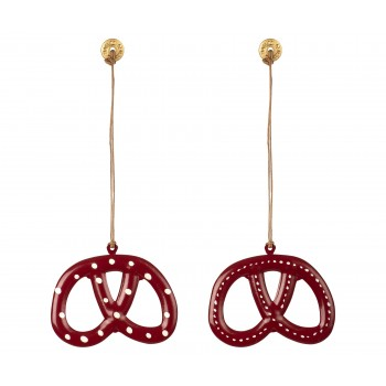 Ornament Pretzel, Metal