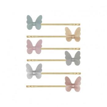 Butterfly kirby grips (6u.)