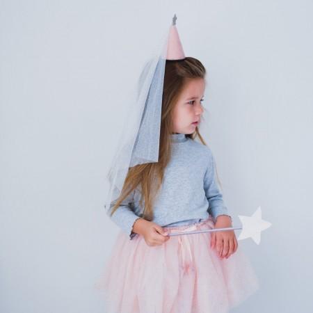 Gorro princesa tul