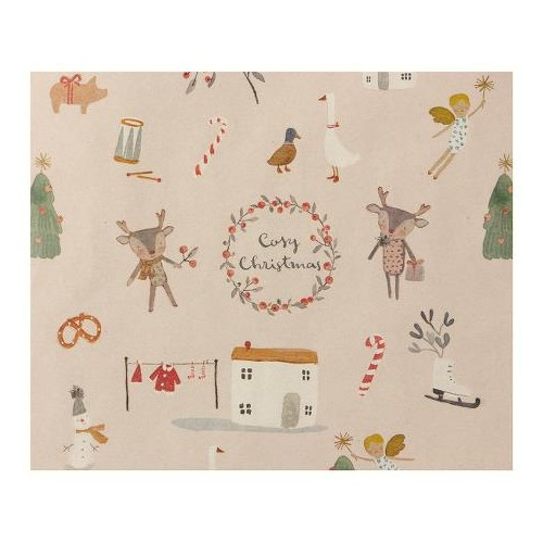 Giftwrap, Cosy Christmas - 10 m
