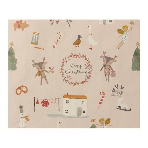 Giftwrap, Cosy Christmas - 10 m