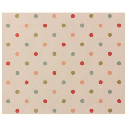Giftwrap, Multi dots - 10 m
