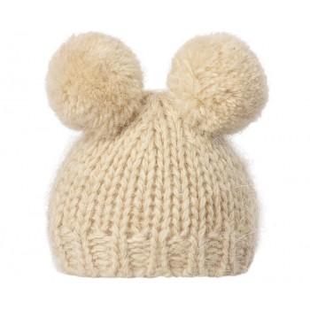 Best Friends knitted hat cream
