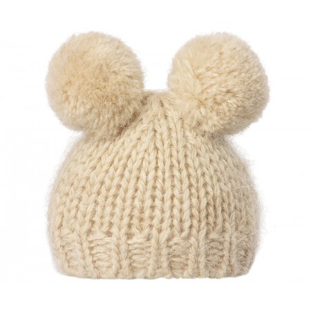 Best Friends knitted hat cream