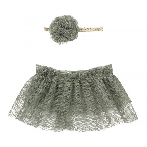 Tutu & hairband for Mini - Petrol