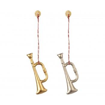 Metal Trompet ornament