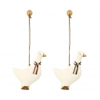 Ornament Goose, Metal