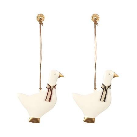 Ornament Goose, Metal