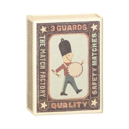 Soldado decoración Metal en caja (3 u.)