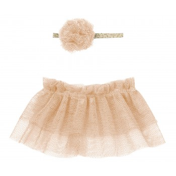 Tutu & hairband for Mini - Rose
