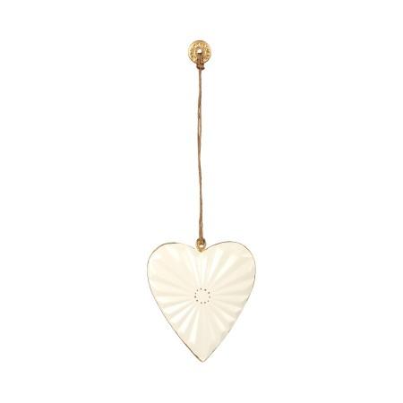 Corazón  decoración metal