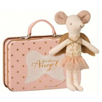 Ratoncita Ángel con maleta