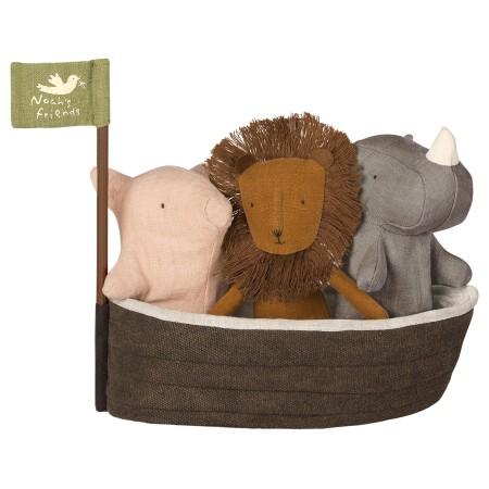 Arca de Noé con 3 Peluches