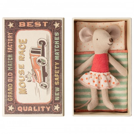 Muñeco Ratoncita en caja (Little)
