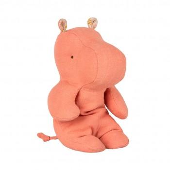 Peluche, pequeño hipopótamo, Papaya